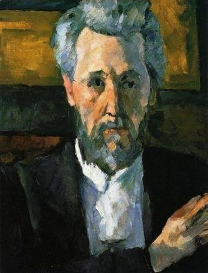 Paul Cezanne - Portrait Of Victor Chocquet2
