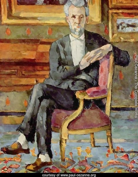 Portrait Of Victor Chocquet  Seated