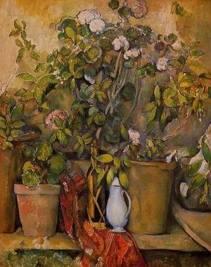 Paul Cezanne - Potted Plants