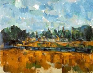 Paul Cezanne - Riverbanks