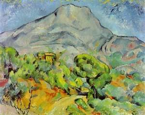 Paul Cezanne - Road Near Mont Sainte Victoire
