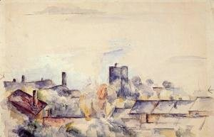 Paul Cezanne - Roof In L Estaque