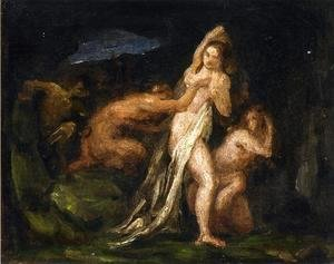 Satyres And Nymphs