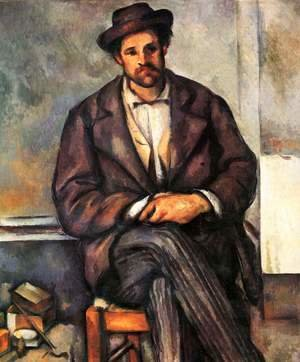 Paul Cezanne - Seated Peasant