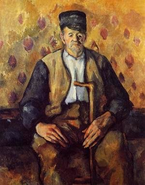 Paul Cezanne - Seated Peasant2