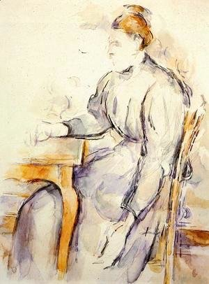 Paul Cezanne - Seated Woman