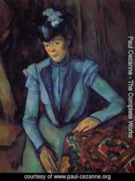 Paul Cezanne - Seated Woman In Blue