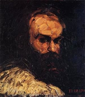 Paul Cezanne - Self Portrait4