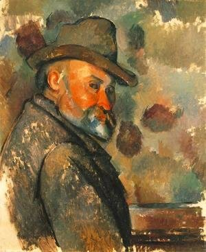Paul Cezanne - Self Portrait In A Felt Hat