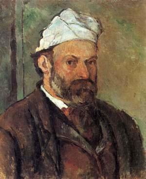 Paul Cezanne - Self Portrait In A White Cap