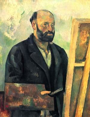 Paul Cezanne - Self Portrait With Palette