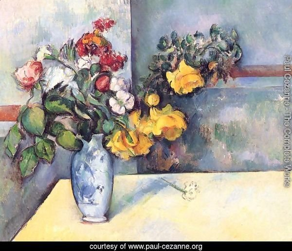 Still Life   Flowers In A Vase