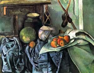 Paul Cezanne - Still Life With A Ginger Jar And Eggplants
