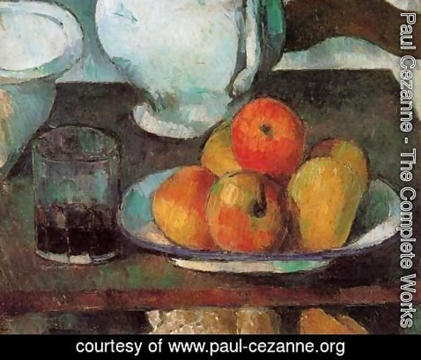 Paul Cezanne - Still Life With Apples2