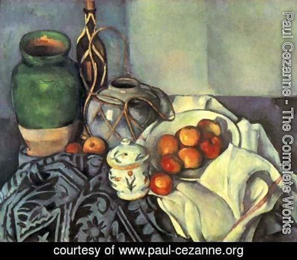 Paul Cezanne - Still Life With Apples4