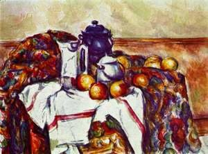 Paul Cezanne - Still Life With Blue Pot