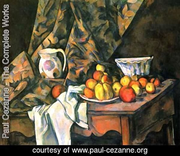 Paul Cezanne - Still Life With Flower Holder