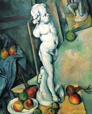 Paul Cezanne - Still Life With Plaster Cupid2
