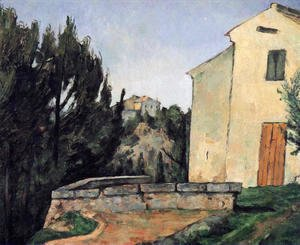 Paul Cezanne - The Abandoned House