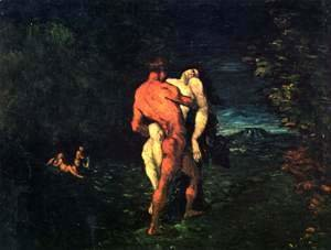 Paul Cezanne - The Abduction