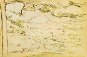 Paul Cezanne - The Arc Valley