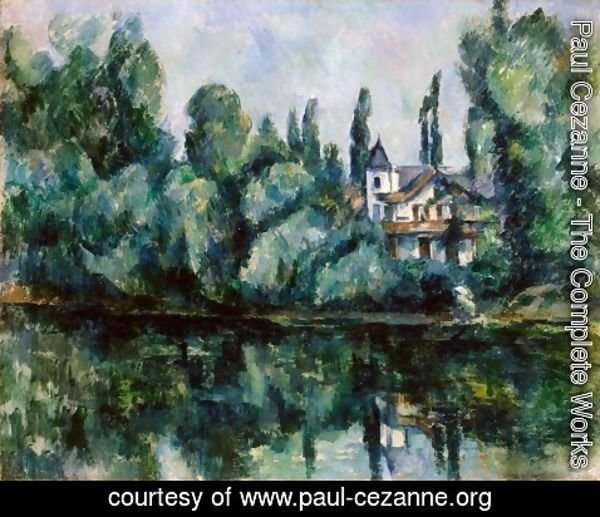 Paul Cezanne - The Banks Of The Marne