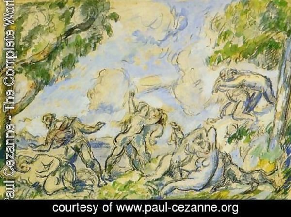 Paul Cezanne - The Battle Of Love