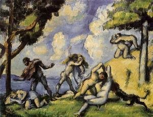 Paul Cezanne - The Battle Of Love  I