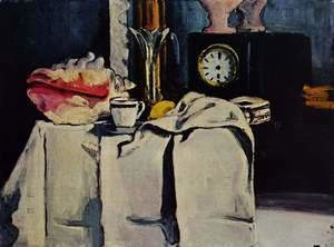 Paul Cezanne - The Black Clock