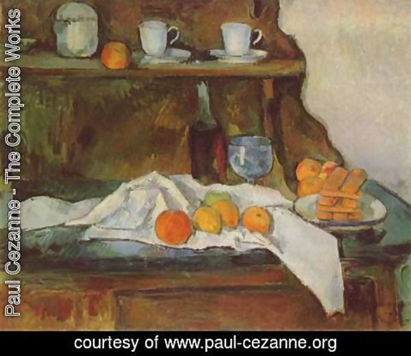 Paul Cezanne - The Buffet