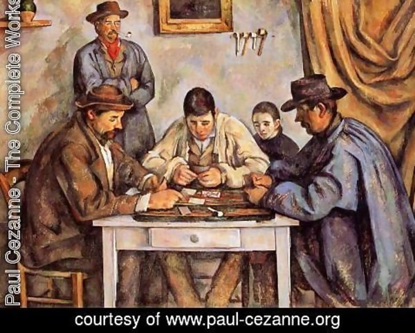 Paul Cezanne - The Card Players2