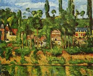 Paul Cezanne - The Chateau De Madan
