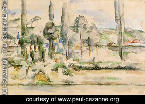 Paul Cezanne - The Chateau De Medan