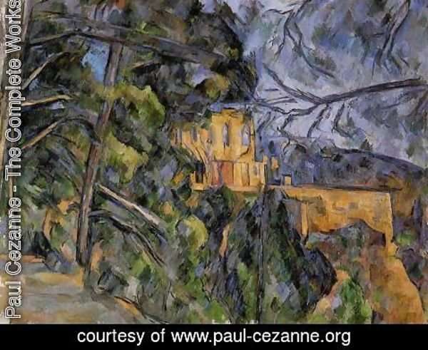 Paul Cezanne - The Chateau Noir2