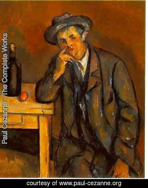 Paul Cezanne - The Drinker