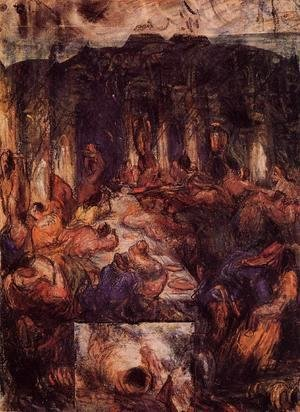 Paul Cezanne - The Feast