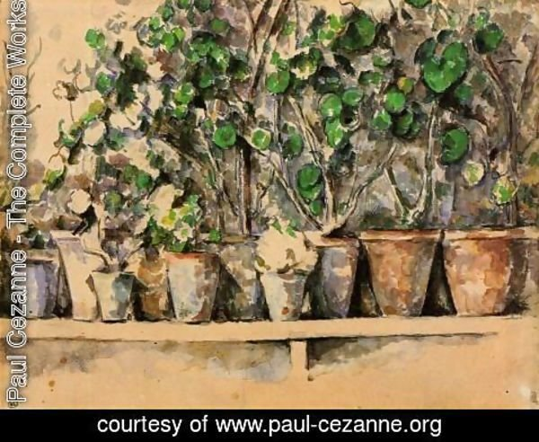 Paul Cezanne - The Flower Pots