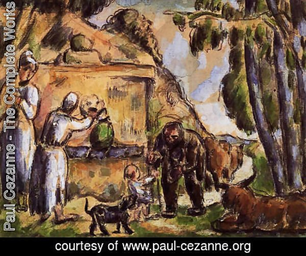 Paul Cezanne - The Fountain2