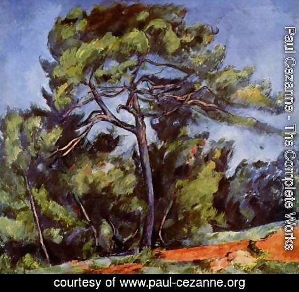 Paul Cezanne - The Great Pine2