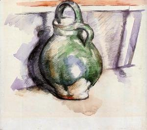 Paul Cezanne - The Green Pitcher