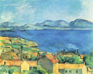 Paul Cezanne - The Gulf Of Marseille Seen From L Estaque