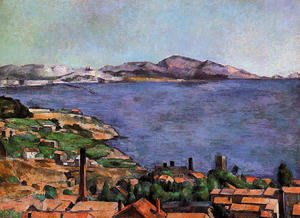 Paul Cezanne - The Gulf Of Marseilles Seen From L Estaque