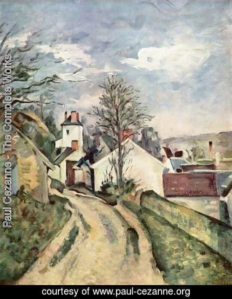 Paul Cezanne - The House Of Dr  Gached In Auvers