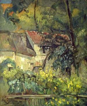 The House Of Pere Lacroix In Auvers