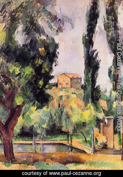 Paul Cezanne - The Jas De Bouffan