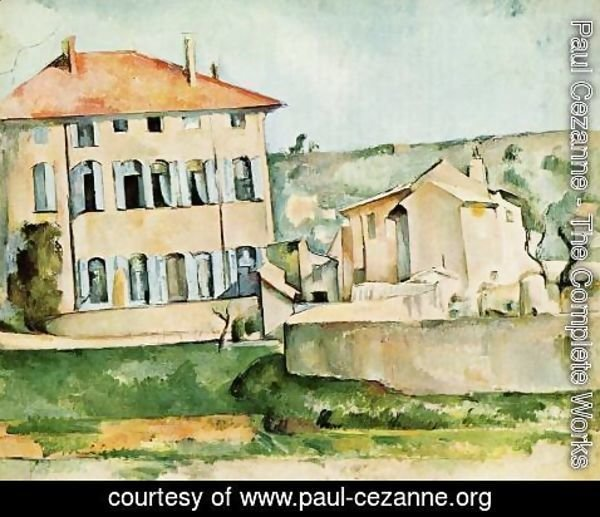 Paul Cezanne - The Jas De Bouffan2