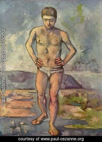 Paul Cezanne - The Large Bather