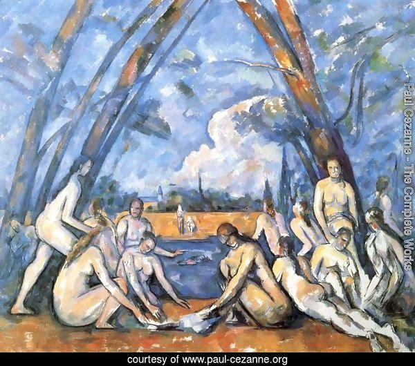 The Large Bathers2