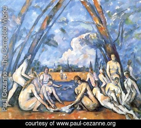 Paul Cezanne - The Large Bathers2
