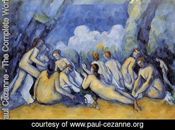 Paul Cezanne - The Large Bathers3